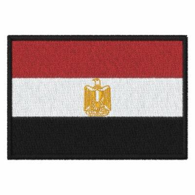 Customizable Flag of Egypt Embroidered Shirts