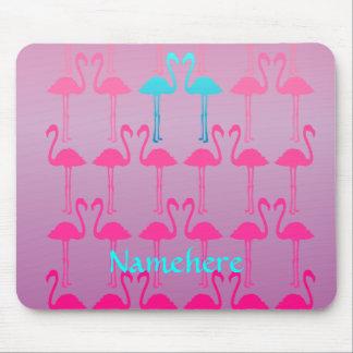 Customizable: Flamingo two Mouse Pad
