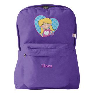 Customizable Flora American Apparel™ Backpack