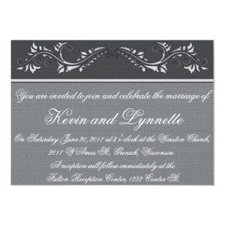 Customizable Floral Classic Wedding Invitations