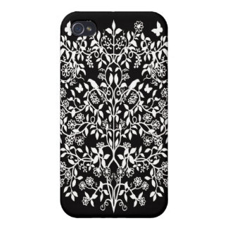 Customizable Floral Damask Lace Speck Case