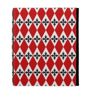 Customizable Floral Diamonds iPad Case