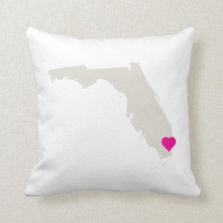 Customizable Florida State Love Reversible Pillow