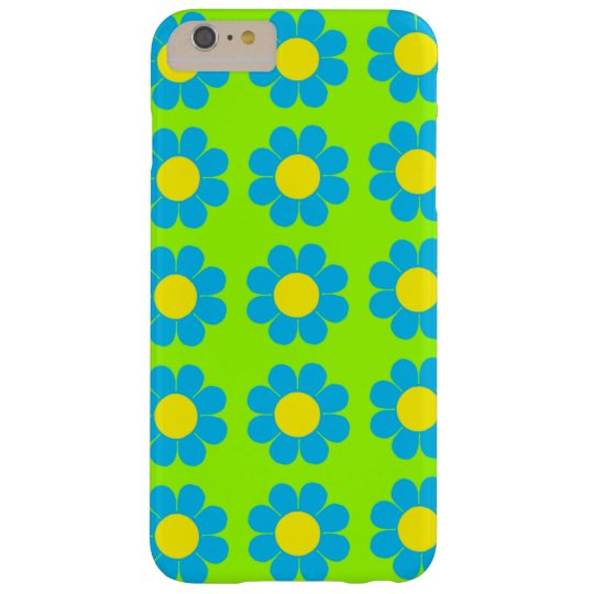 Customizable Flower Power Barely There iPhone 6 Plus Case