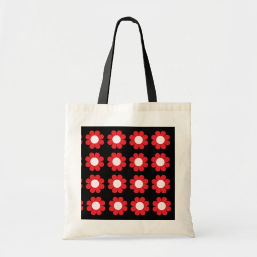Customizable Flower Power Budget Tote Bag