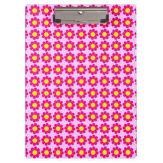 Customizable Flower Power Clipboard
