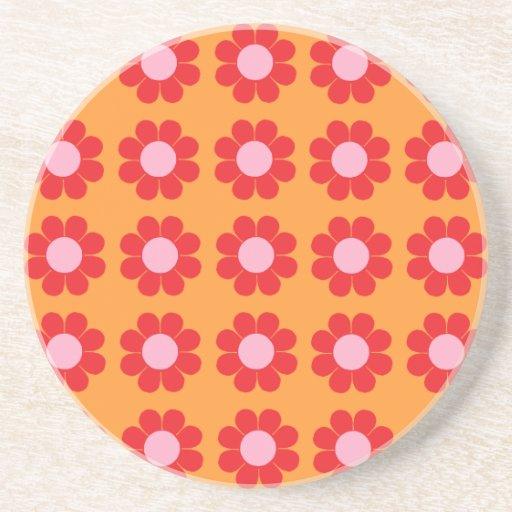 Customizable Flower Power Coasters