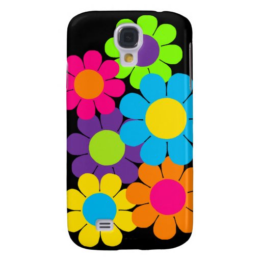 Customizable Flower Power Daisies Samsung Galaxy S4 Cases