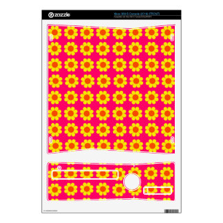 Customizable Flower Power Decal For Xbox 360 S