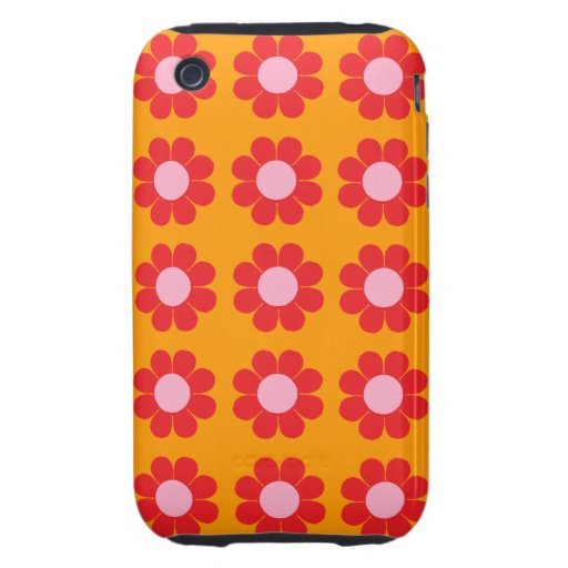 Customizable Flower Power iPhone 3 Tough Cases