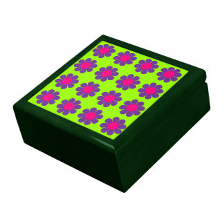 Customizable Flower Power Jewelry Boxes