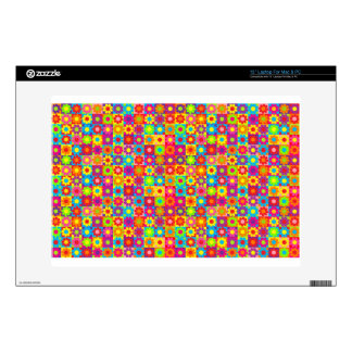 Customizable Flower Power Laptop Decal