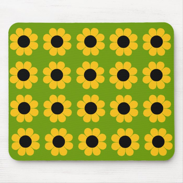Customizable Flower Power Mouse Pad