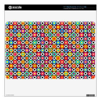Customizable Flower Power Skin For The MacBook Air
