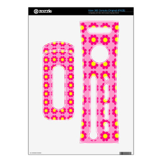 Customizable Flower Power Skin For The Xbox 360
