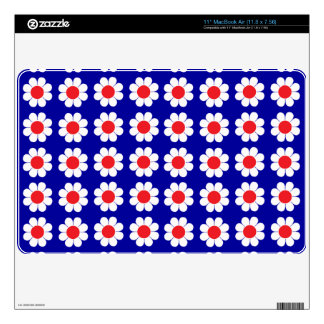 Customizable Flower Power Skins For The MacBook