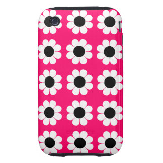 Customizable Flower Power Tough iPhone 3 Covers