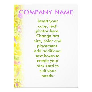Customizable Flyer - Lemon Drop