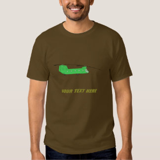 Customizable Flying CH-47 Chinook Transport Copter Shirt