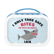 Customizable Food Allergy Alert Lunchbox