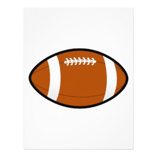 Customizable Football Flyers