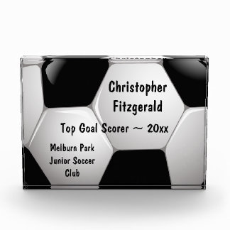 Customizable Football Soccer Ball Award