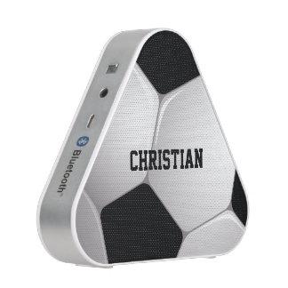Customizable Football Soccer Ball Bluetooth Speaker