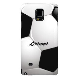 Customizable Football Soccer Ball Galaxy Note 4 Case