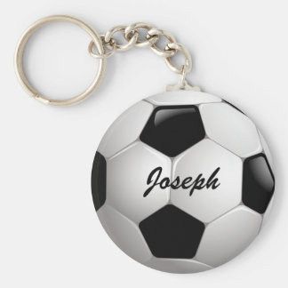 Customizable Football Soccer Ball Keychain