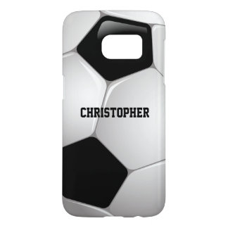 Customizable Football Soccer Ball Samsung Galaxy S7 Case