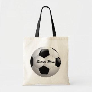 Customizable Football Soccer Ball Tote Bag