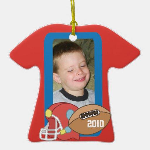 Customizable Football Sports Ornament
