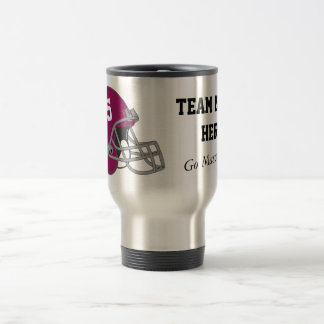Customizable Football Team Travel Mug