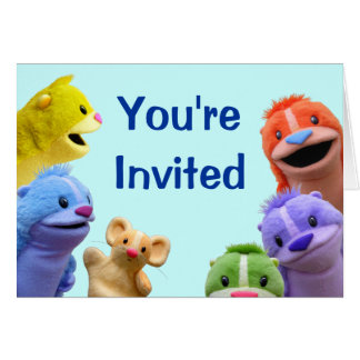 Customizable Forest Fables Invitation