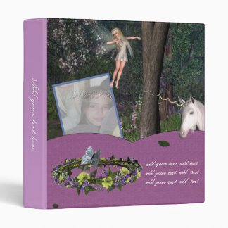 Customizable Forest Fairy Photo Binder