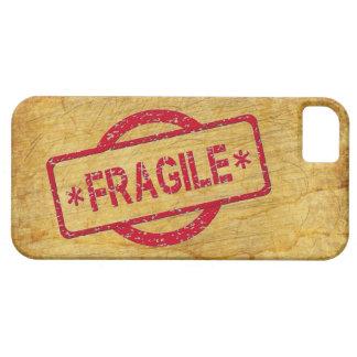 Customizable Fragile Stamp on Vintage Paper iPhone SE/5/5s Case