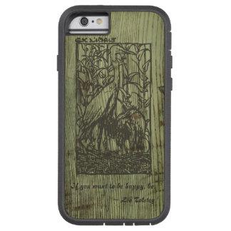 Customizable Frank Brangwyn Bookplate iphone case Tough Xtreme iPhone 6 Case