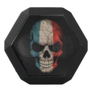 Customizable French Flag Skull Black Boombot Rex Bluetooth Speaker