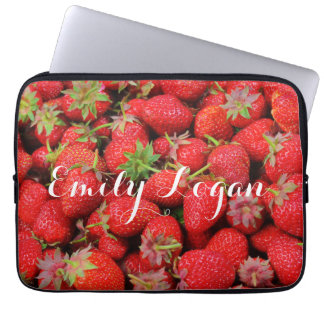Customizable Fresh Red Strawberries Sleeve