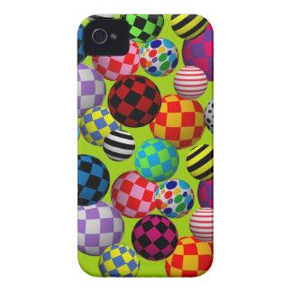 Customizable Fun & Colorful Balls Case-Mate iPhone 4 Case