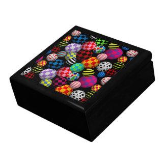 Customizable Fun & Colorful Balls Keepsake Box