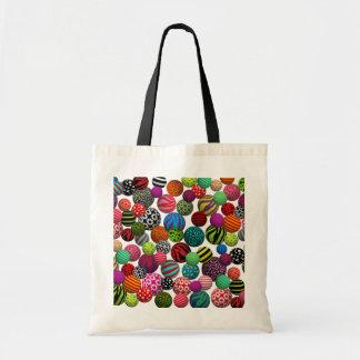Customizable Fun & Colorful Balls Tote Bags