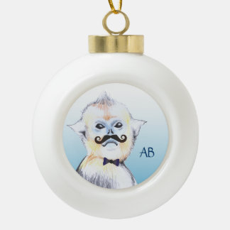 Customizable: Funky monkey Ornaments