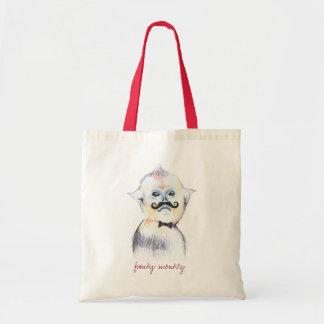 Customizable: Funky monkey Tote Bag