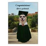 Customizable Funny Dog/Lab Graduation Card