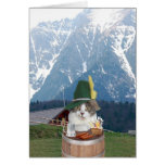 Customizable Funny German Cat/Kitty Cards