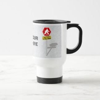 Customizable Funny Hockey Goalie Travel Mug