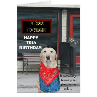Customizable Funny Old-Timer Dog Card