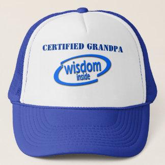 Customizable Funny Trucker Hat - Wisdom Inside