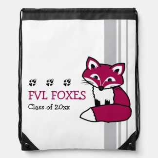 Customizable FVL Foxes Drawstring Backpack